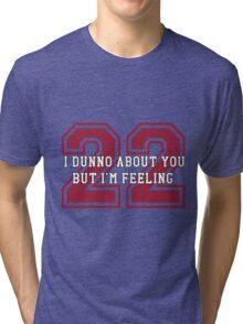 22 Sport Jersey  Tri-blend T-Shirt