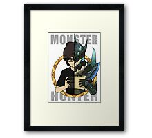 Hunter's Life (Neon Custom) Framed Print