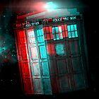 3D TARDIS by faw-n