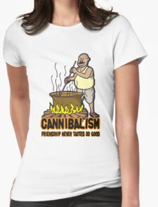 Cannibalism Womens Fitted T-Shirt