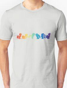 mane six silhouette  T-Shirt