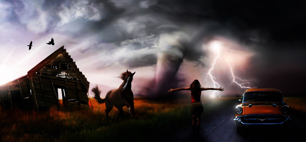 embracing the storm by Cliff Vestergaard