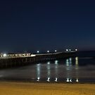 Pacific Beach Pier by Eric Bodenchak