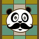 Mustache Panda 4 by Adamzworld