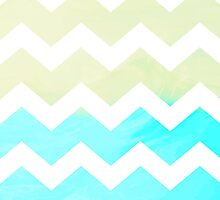 TO THE SEA CHEVRON by Rebecca Allen