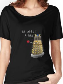 An Apple a Day Keeps the Doctor Away Women's Relaxed Fit T-Shirt