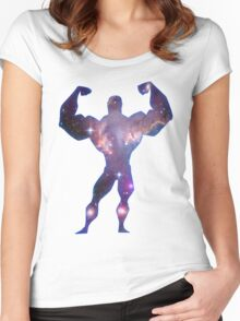 Space Man Women's Fitted Scoop T-Shirt