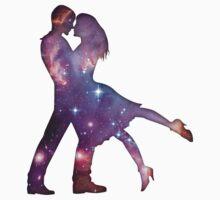 Cosmic Couple Kids Tee