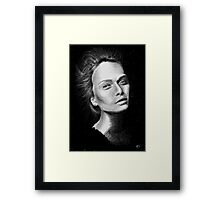 Love Girls  - Black Framed Print