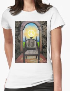 The Chair In The Doorway Womens Fitted T-Shirt