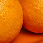 Oranges on an Orange Plate by Jay Gross