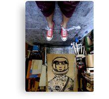 orbit in the studio Canvas Print