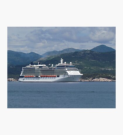The Celebrity Silhouette Photographic Print