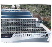 Passengers on the Celebrity Silhouette Poster