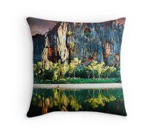 Windjana Gorge Throw Pillow