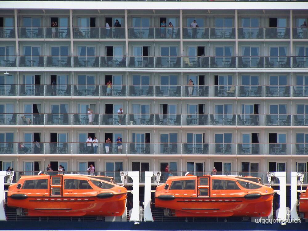 Six Decks and Two Life Boats by wiggyofipswich