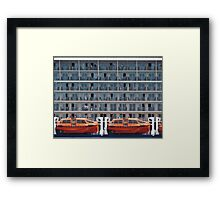 Six Decks and Two Life Boats Framed Print