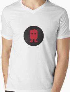 Robot Circle TWO Mens V-Neck T-Shirt