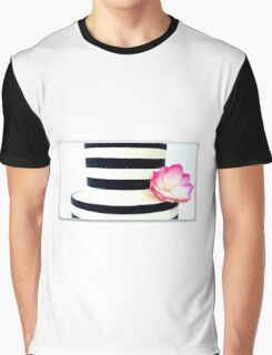 Gorgeous Striped Cake Graphic T-Shirt