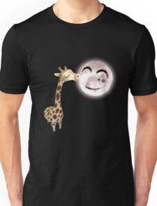 A Giraffe Can Kiss The Moon Unisex T-Shirt