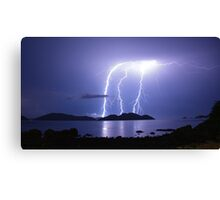 Lord of the Thunder Canvas Print
