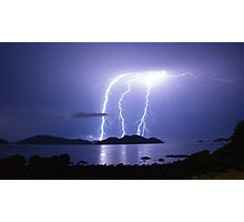 Lord of the Thunder Photographic Print