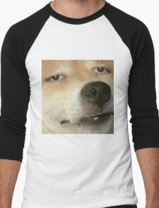 Dank Dog Men's Baseball ¾ T-Shirt