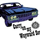 Carry on my Wayward Son- Dark by ArtisticCole