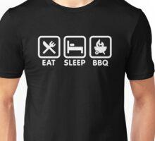 EAT SLEEP BBQ Unisex T-Shirt