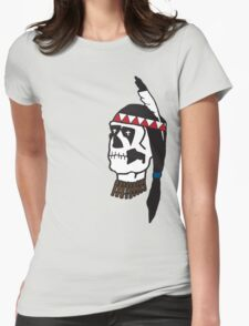 dead indian Womens Fitted T-Shirt