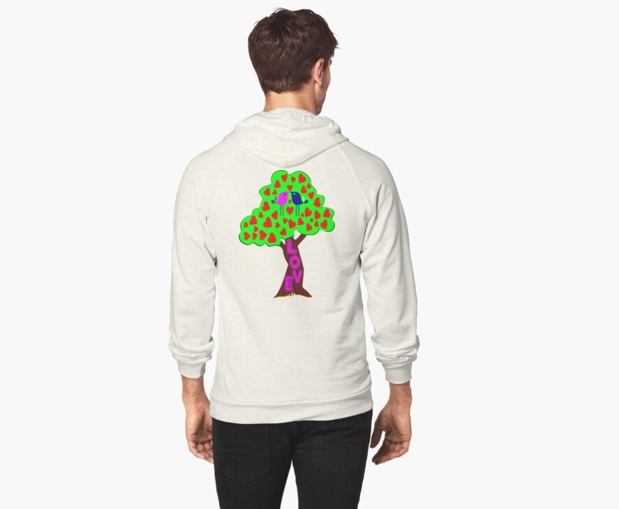 °•Ƹ̵̡Ӝ̵̨̄Ʒ♥Romantic Lovebirds Kissing on a Love-Tree Clothing & Stickers♥Ƹ̵̡Ӝ̵̨̄Ʒ•° by Fantabulous