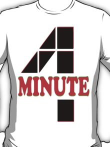 ㋡♥♫4Minute Hot K-Pop Girl Group Clothing & Stickers♪♥㋡ T-Shirt
