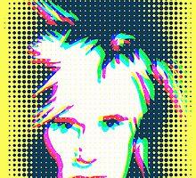 Ghostly Andy Warhol by Celticana