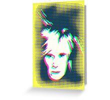 Ghostly Andy Warhol Greeting Card