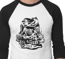 SMOKIN SKULL Men's Baseball ¾ T-Shirt