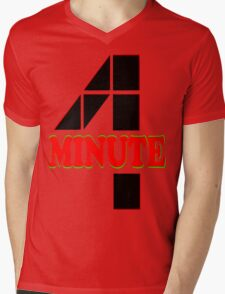 ㋡♥♫Hot Fabulous K-Pop Girl Group-4Minute Clothing & Stickers♪♥㋡ Mens V-Neck T-Shirt