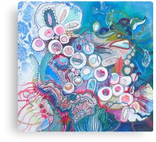 Aquatic Soul Dance Canvas Print
