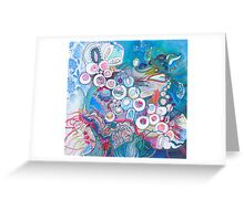 Aquatic Soul Dance Greeting Card
