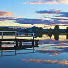 Tweed River sunset by sarcalder
