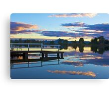 Tweed River sunset Canvas Print