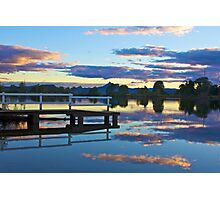 Tweed River sunset Photographic Print