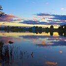 Sunset Tweed River  by sarcalder
