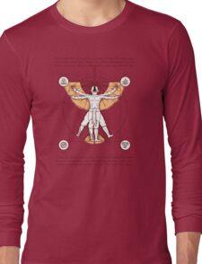 Vitruvian Aang Long Sleeve T-Shirt