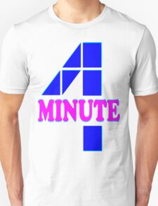 ㋡♥♫Hot Fabulous K-Pop Girl Group-4Minute Clothing & Stickers♪♥㋡ Unisex T-Shirt