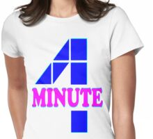 ㋡♥♫Hot Fabulous K-Pop Girl Group-4Minute Clothing & Stickers♪♥㋡ Womens Fitted T-Shirt