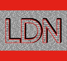 London Boroughs LDN by lethalfizzle