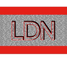London Boroughs LDN Photographic Print
