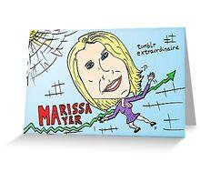 yahoo tumblr pdg marissa mayer webcomic Greeting Card