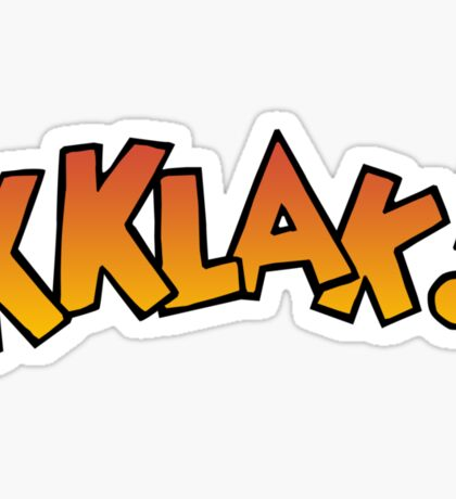 Kklak! Sticker