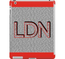 London Boroughs LDN iPad Case/Skin